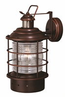 Picture for category Vaxcel Lighting T0257 Outdoor Lanterns Burnished Bronze Steel Hyannis