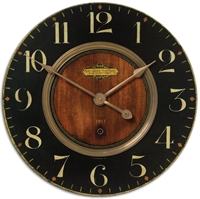 Picture for category Uttermost 06027 Clock MDF Brass Aluminum Alexandre