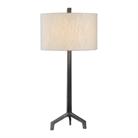 Picture for category Uttermost 27557-1 Desk Lamps Steel Ivor