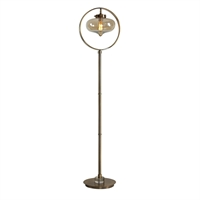 Picture for category Uttermost 28154-1 Desk Lamps METAL GLASS AND CRYSTAL Namura