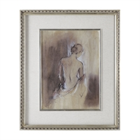 Picture for category Uttermost 41574 Decor PINEWOOD GLASS MDF LINEN PAPER Contemporary Draped Figure