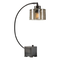 Picture for category Uttermost 29552-1 Desk Lamps METAL AND GLASS Cervino