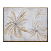 Picture for category Uttermost 38201 Decor PINE WOOD/CANVAS/ACRYLIC Daisy Stars