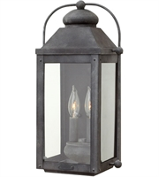 Picture for category Hinkley Lighting 1854DZ-LL Wall Sconces Aged Zinc Aluminum Anchorage