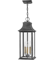 Picture for category Hinkley Lighting 2932DZ Outdoor Pendant Aged Zinc Aluminum Adair