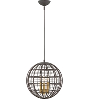 Picture for category Hinkley Lighting 3514OR Pendants Oiled Bronze Steel Terra