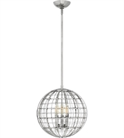Picture for category Hinkley Lighting 3514PN Pendants Polished Nickel Steel Terra