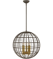 Picture for category Hinkley Lighting 3515OR Pendants Oiled Bronze Steel Terra