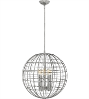 Picture for category Hinkley Lighting 3515PN Pendants Polished Nickel Steel Terra