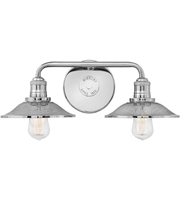 Picture for category Hinkley Lighting 5292PN Bath Lighting Polished Nickel Steel Rigby