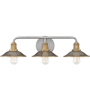 Picture for category Hinkley Lighting 5293AN Bath Lighting Antique Nickel Steel Rigby