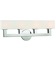 Picture for category Hudson Valley Lighting 5454-PN Wall Sconces Polished Nickel Cast Metal / Linen Clarke