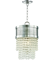 Picture for category Hudson Valley Lighting 7704-PN Pendants Polished Nickel Metal / Crystal Harrison