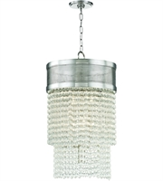 Picture for category Hudson Valley Lighting 7716-PN Pendants Polished Nickel Metal / Crystal Harrison