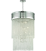 Picture for category Hudson Valley Lighting 7722-PN Pendants Polished Nickel Metal / Crystal Harrison