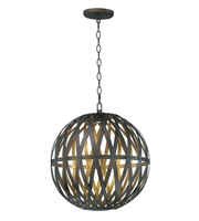 Picture for category Maxim Lighting 35054BZGTGLD Pendants Bronze Gilt and Gold Metal Weae