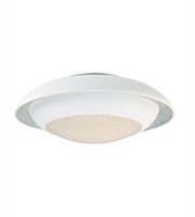 Picture for category Maxim Lighting 35072CYSLWT Flush Mounts Siler Leaf and White Metal Iris