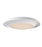 Picture for category Maxim Lighting 35078CYSLWT Flush Mounts Siler Leaf and White Metal Iris