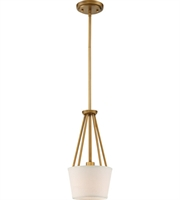 Picture for category Nuvo Lighting 60/5843 Mini Pendants Natural Brass Seneca