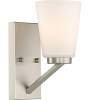 Picture for category Nuvo Lighting 60/6241 Bath Lighting Brushed Nickel Steel Nome