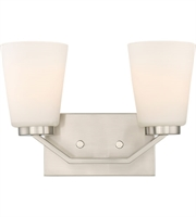 Picture for category Nuvo Lighting 60/6242 Bath Lighting Brushed Nickel Steel Nome