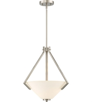 Picture for category Nuvo Lighting 60/6247 Pendants Brushed Nickel Steel Nome