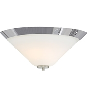 Picture for category Nuvo Lighting 60/6252 Flush Mounts Brushed Nickel Steel Nome