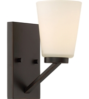 Picture for category Nuvo Lighting 60/6341 Bath Lighting Mahogany Bronze Steel Nome