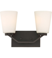 Picture for category Nuvo Lighting 60/6342 Bath Lighting Mahogany Bronze Steel Nome