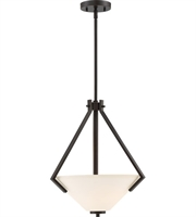 Picture for category Nuvo Lighting 60/6347 Pendants Mahogany Bronze Steel Nome