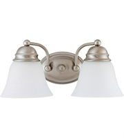 Picture for category Nuvo Lighting 62/1122 Bath Lighting Brushed Nickel Empire