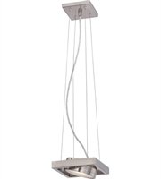 Picture for category Nuvo Lighting 62/997 Pendants Brushed Nickel Hawk