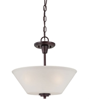 Picture for category Thomas 190043719 Pittman Pendants 15in Sienna Bronze 2-light