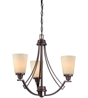Picture for category Thomas 190109704 Wright Chandeliers 22in Espresso 3-light
