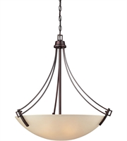 Picture for category Thomas 190112704 Wright Pendants 27in Espresso 4-light