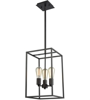 Picture for category Thomas CN15831 Williamsport Chandeliers 10in Oil Rubbed Bronze 3-light