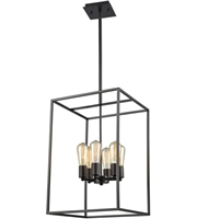 Picture for category Thomas CN15861 Williamsport Chandeliers 14in Oil Rubbed Bronze 6-light