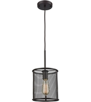 Picture for category Thomas CN250151 Williamsport Pendants 8in Oil Rubbed Bronze 1-light