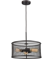Picture for category Thomas CN250341 Williamsport Chandeliers 15in Oil Rubbed Bronze 3-light