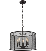Picture for category Thomas CN250541 Williamsport Chandeliers 18in Oil Rubbed Bronze 5-light