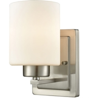 Picture for category Thomas CN579172 Summit Place Bath Lighting 5in Brushed Nickel 1-light