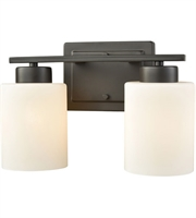 Picture for category Thomas CN579211 Summit Place Bath Lighting 12in Oil Rubbed Bronze 2-light