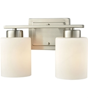 Picture for category Thomas CN579212 Summit Place Bath Lighting 12in Brushed Nickel 2-light