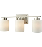 Picture for category Thomas CN579312 Summit Place Bath Lighting 21in Brushed Nickel 3-light