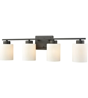 Picture for category Thomas CN579411 Summit Place Bath Lighting 29in Oil Rubbed Bronze 4-light