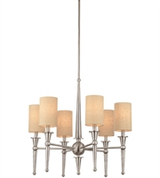 Picture for category Thomas M209778 Allure Chandeliers 26in Brushed Nickel 6-light