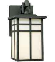 Picture for category Thomas SL91047 Mission Wall Sconces 6in Black 1-light