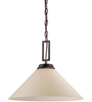 Picture for category Thomas TC0007704 Wright Pendants 16in Espresso 1-light
