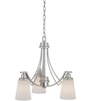 Picture for category Thomas TK0009117 Wright Chandeliers 20in Matte Nickel 3-light