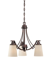 Picture for category Thomas TK0009704 Wright Chandeliers 20in Espresso 3-light